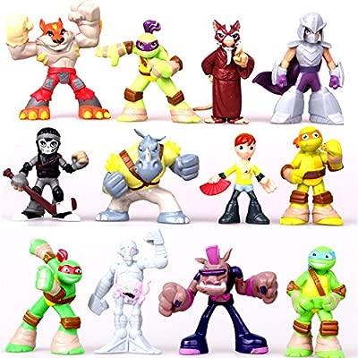 ONOGAL Las tortugas ninja figuras 12 personajes Donatello ...