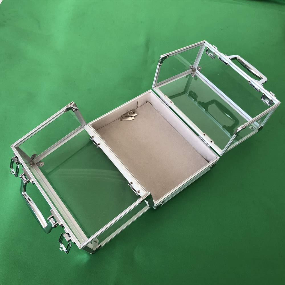 YH Poker 600PC Clear Acrylic Poker Chip Locking Case