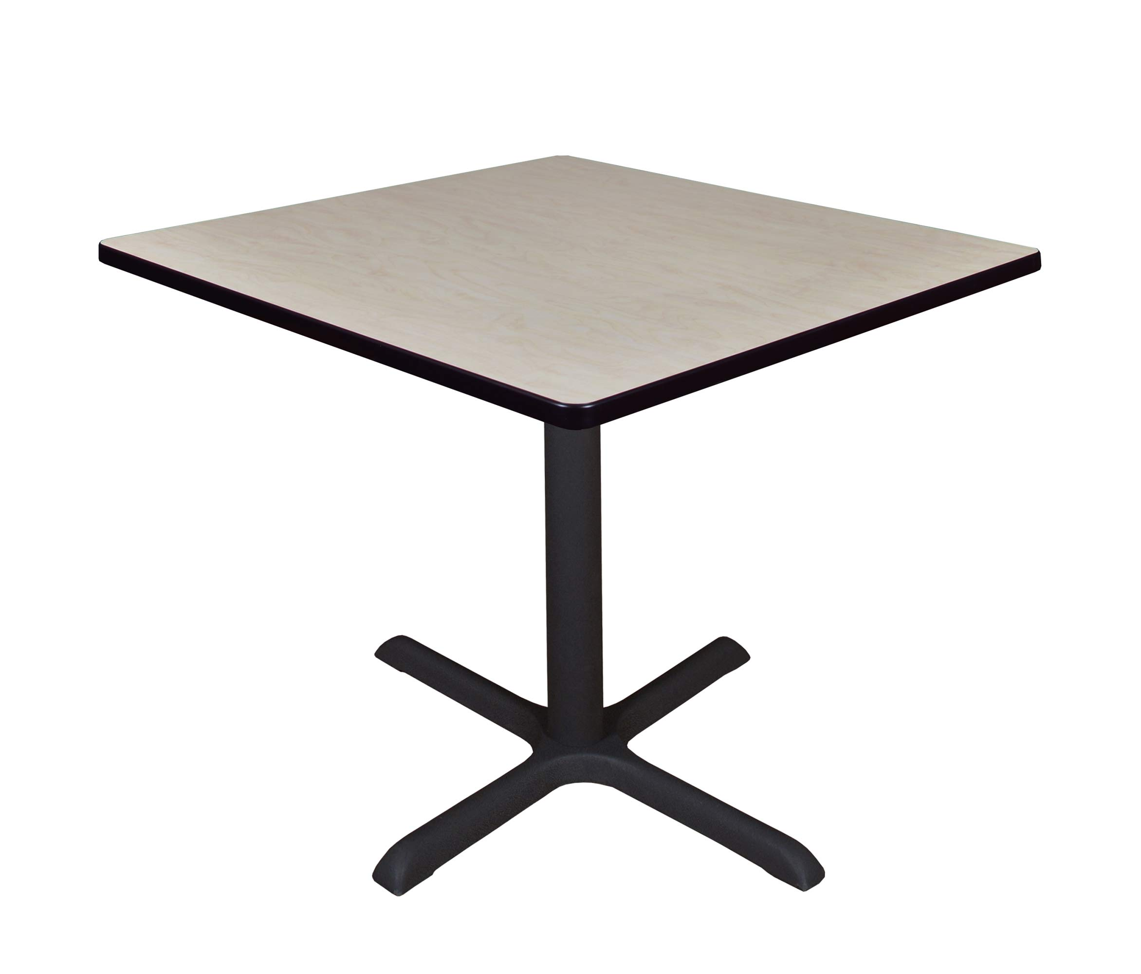 Regency A-TB3636LM Cali Square Breakroom Table, 36'', Light Maple by Regency
