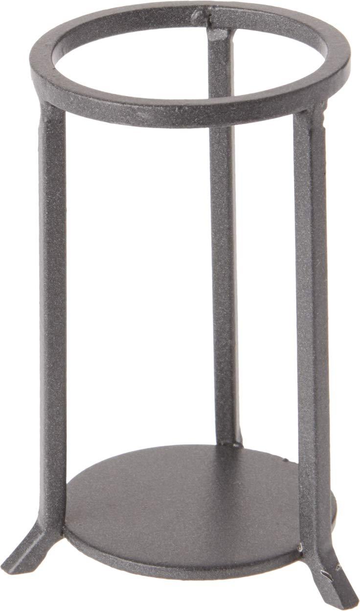 Straight Leg Bards Wrought Iron Toned Egg Stand//Holder 2.125 Diameter