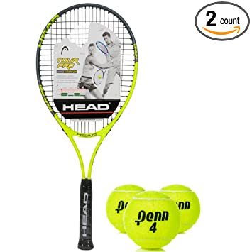 Amazon.com: Head Tour Pro gran tamaño 18 x 19 nanotitanium ...