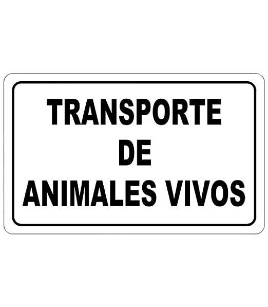 Wolfpack 15051295 Cartel Transporte Animales Vivos 30x21