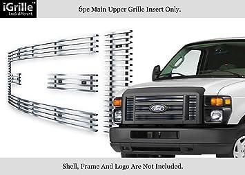 Steel Front Bumper Face Bar Fascia for 2008-2016 Ford Econoline NEW Primered