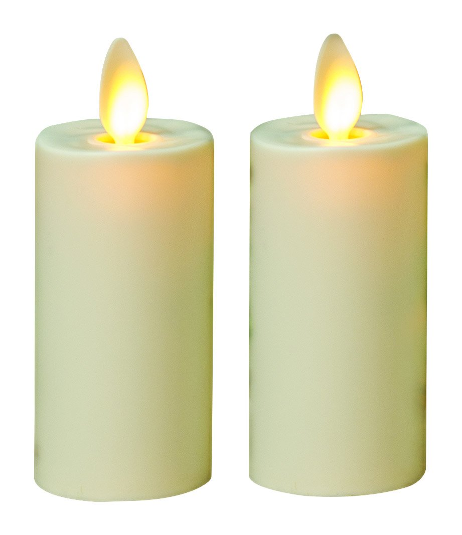 CWI Gifts 2/Pkg, Luminara Votive LED Pillar Candle 2 (GLM27103) by CWI Gifts