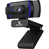 NexiGo AutoFocus Webcam with Software Control, Stereo Microphone and Privacy Cover, N930AF 1080p FHD USB Web Camera…