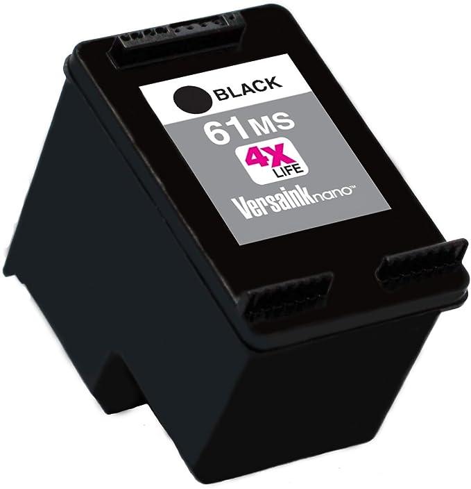 Amazon.com: versaink-nano HP 61 MS BLACK (Micr) – Cartucho ...