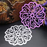 Cutting Dies for Card Making, Staron Metal Cutting Dies Stencil Flower Hearts Happy Birthday Cut Die Template Mould for DIY Scrapbook Embossing Album Paper Card Craft (R)