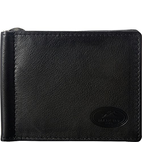 mancini-leather-goods-mens-rfid-secure-id-single-bill-clip-black