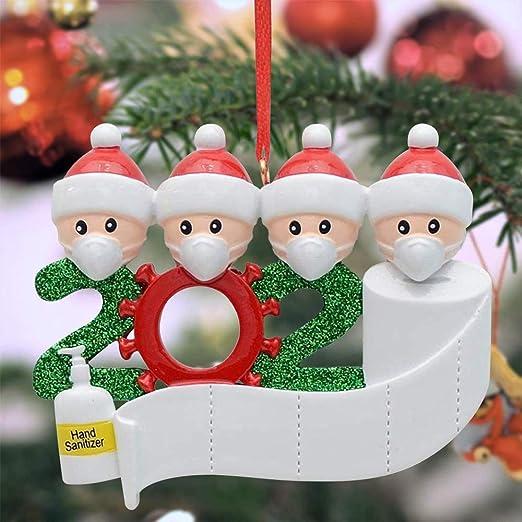 2020 Ornament Quarantine Ornament Stay Home Ornament House Ornament Personalized 2020 Ornament Christmas Ornament 2020 Christmas Ornament