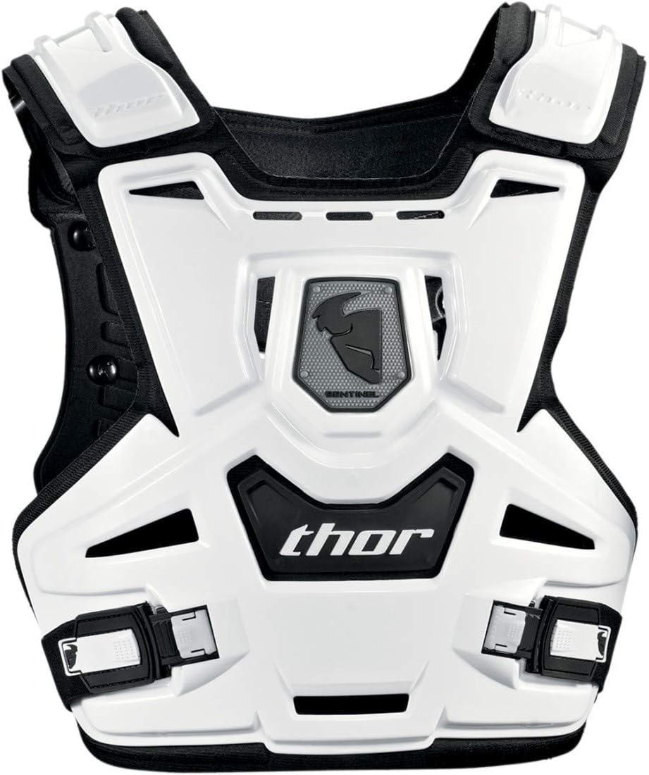 Moto Thor Sentinel Cross Kinder Brustpanzer Protektor Weiß 2701 0783 Auto