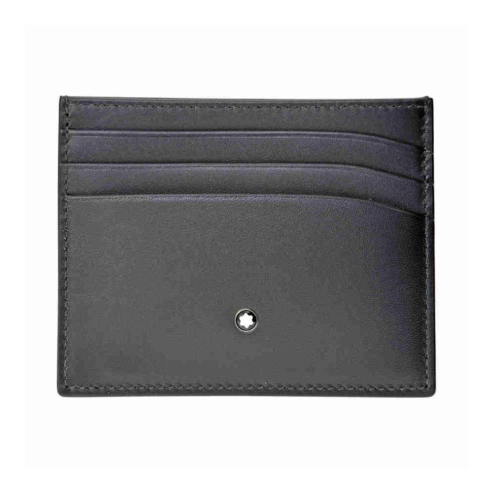 Amazon.com: Montblanc Meisterstuck Business Card Holder MB-113172 ...