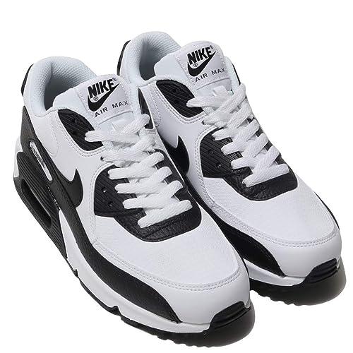Nike Air MAX 90 para Mujer 325213 139, WhiteBlack Black