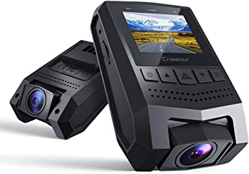 Crosstour 1080p FHD Mini Dash Cam Recorder with 1.5