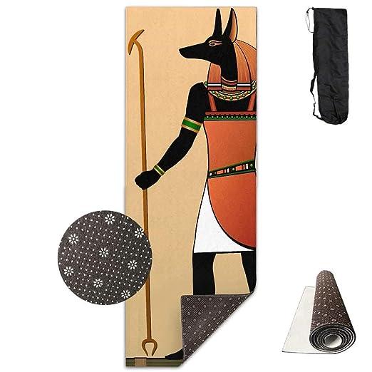 Feng Mei Yan Jiu Yoga Comida Egyptian Murals Anubis Yoga Mat ...