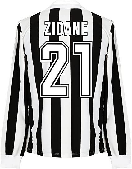 1960 S Juventus Home L S Retro Shirt Zidane No 21 Danone Sponsor Xxl Amazon Ca Sports Outdoors