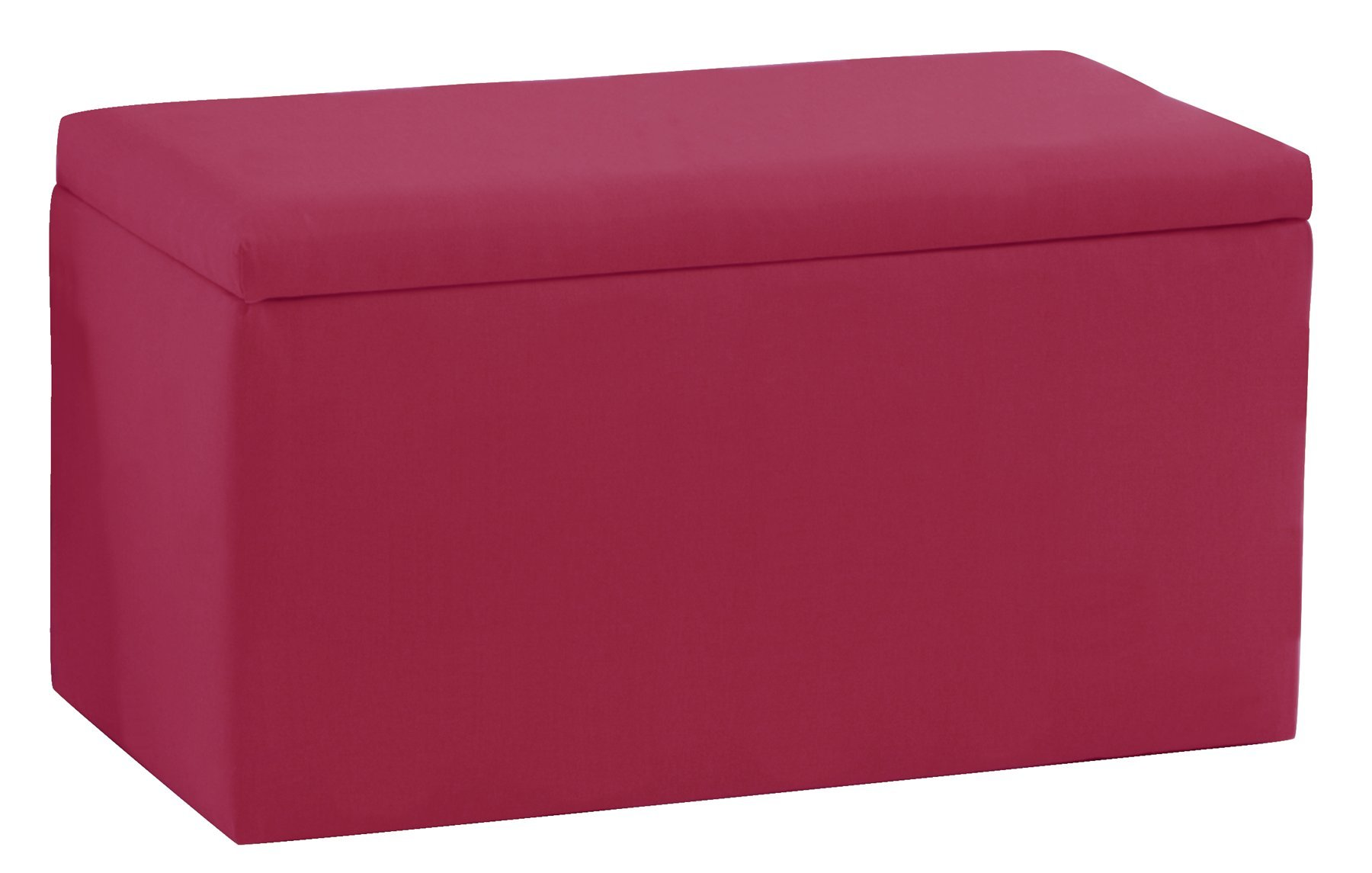 Smarty Pants Kid'S Storage Bench By Skyline Furniture In French Pink Cotton