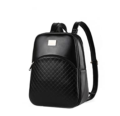 Di Grazia Women's Backpack Handbag (Black,Black-Small-Backpack ...
