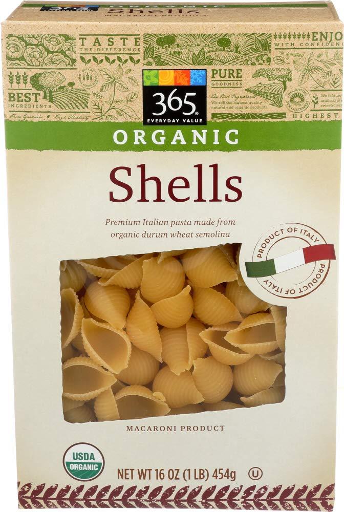 365 Everyday Value, Organic Shells, 16 oz