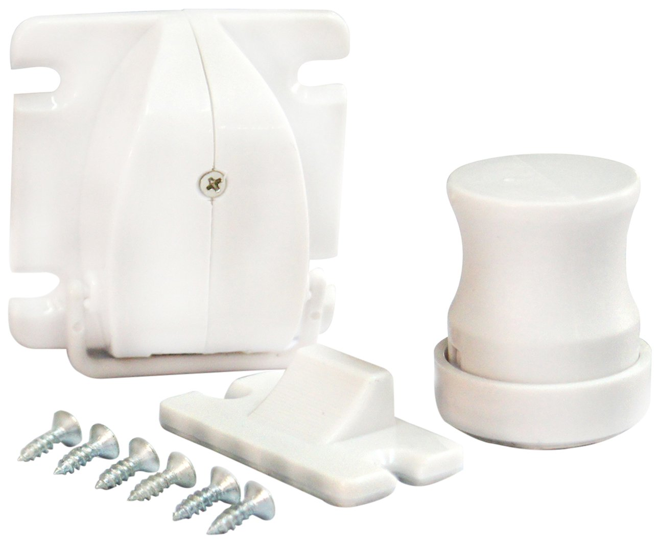 HoooWooo Safety Baby Magnetic Cabinet Locks-No Drilling-4 Locks+1 key