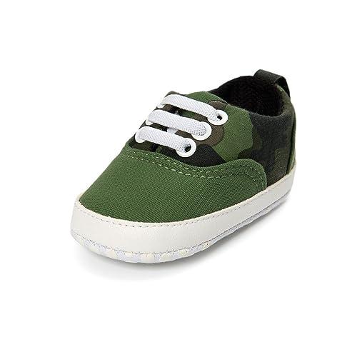 Kfnire Zapatos de Bebé, Zapatos de Lona Antideslizantes Para Bebés Zapatillas de Suela Blanda 0-18M: Amazon.es: Zapatos y complementos
