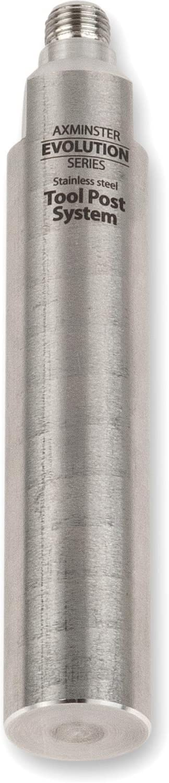 x 125mm 1 Axminster Evolution Series Tool Post 25.4mm