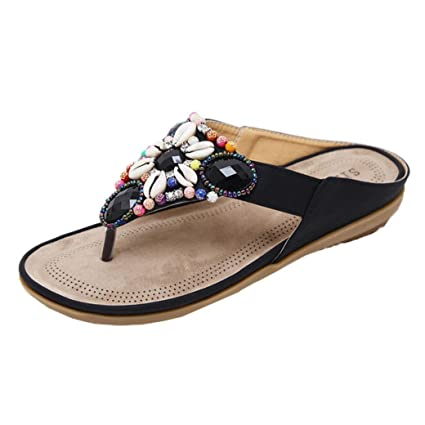709e0ada69f2cd Amazon.com  Flat Sandals Women