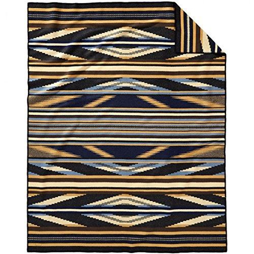 Pendleton Rio Canyon Wool Blanket, Tan, Twin ()