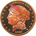 1880 P Pattern Coinage Pattern J-1646 Dollar PR67 PCGS RB
