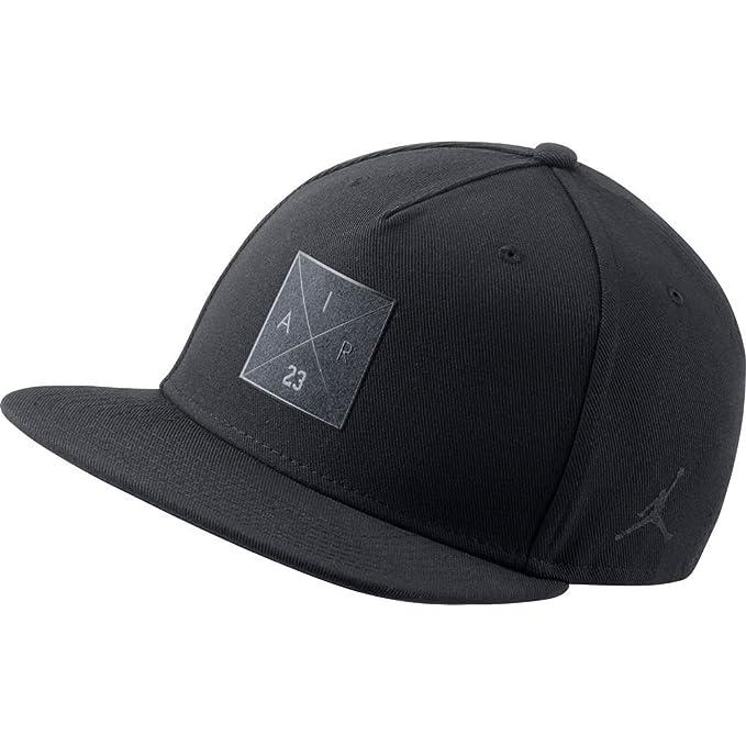 Gorra Jordan – P51 Snapback negro talla  Ajustable 3dfea4fd8bf