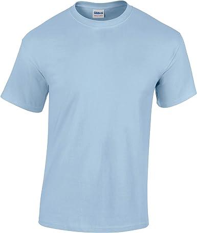 Gildan-Camiseta para niño Azul - Celeste XS: Amazon.es: Ropa y accesorios