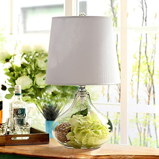 lampara mesa Dormitorio de la lámpara de mesa Dormitorio Cristal ...
