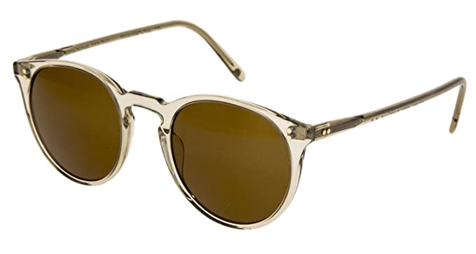 8e9a23ca4e Image Unavailable. Image not available for. Color  OLIVER PEOPLES OV5183SM O MALLEY  NYC THE ROW Olive Brown Cat Eye Sunglasses 5183