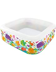 Intex Piscina Acquario, Multicolore, 159 x 159 x 50 cm, 57471