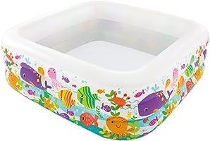Intex Clearview Aquarium Piscina  hinchable, Rectangula r3.55 kg
