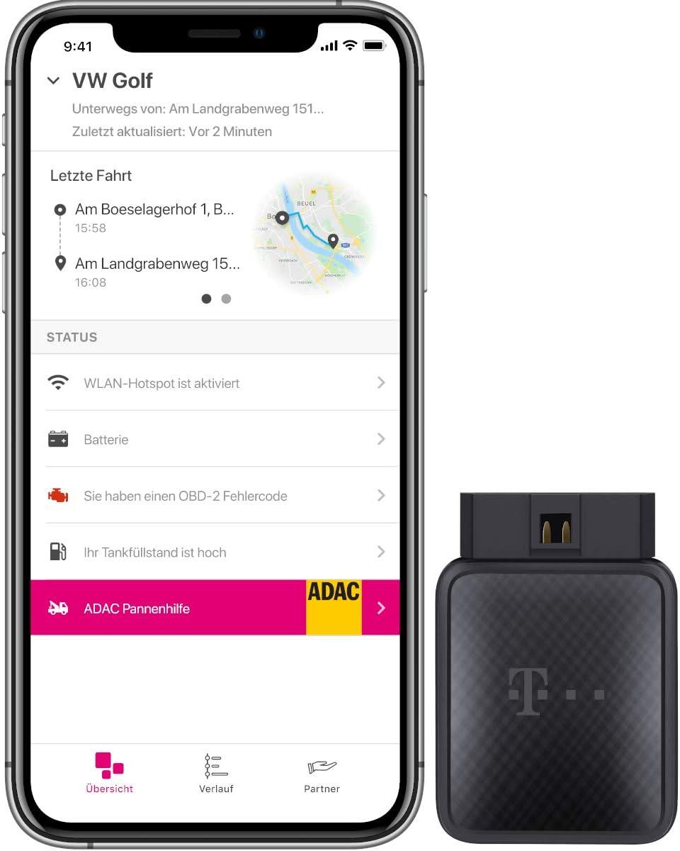 Telekom Carconnect Adapter Inkl 12 Monate Elektronik