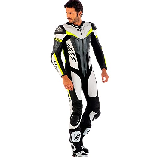 Amazon.com: Spyke 4RACE Rac Suits de piel para moto para ...