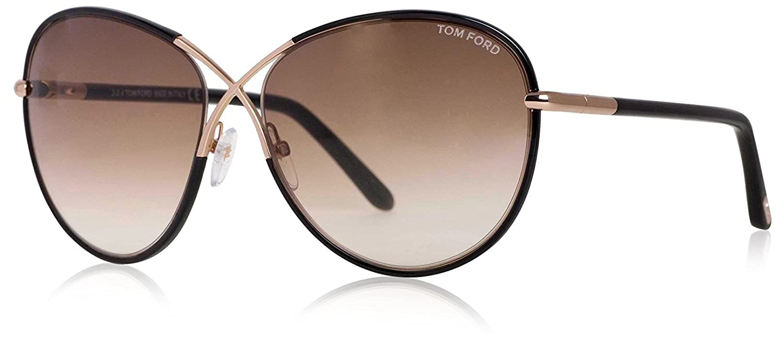 34d1aebac183 Amazon.com  Tom Ford Women s FT0344 Designer Sunglasses