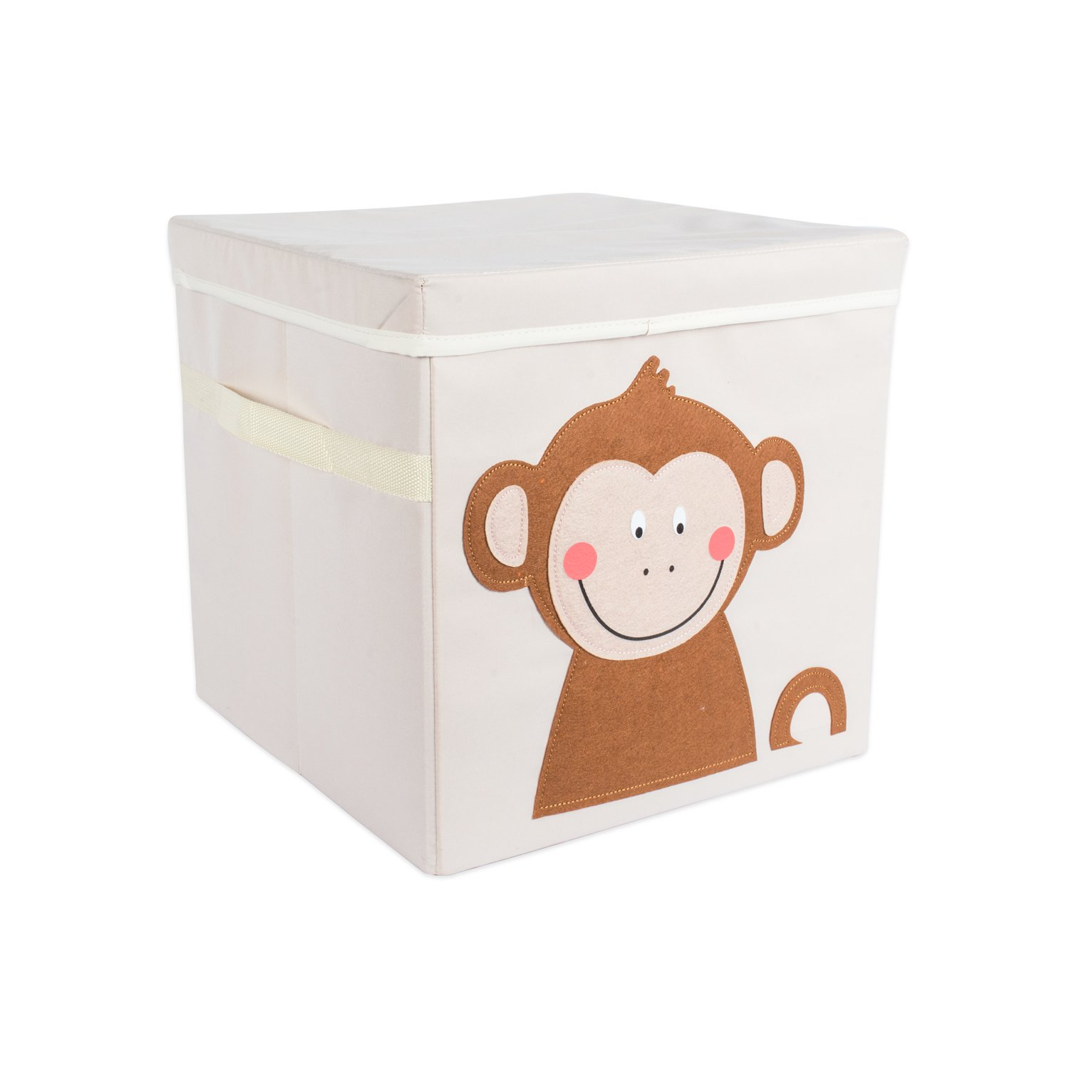 DII Nursery Or Playroom Storage Bins With Lids, Made To Fit Standard Cube  Organizers,
