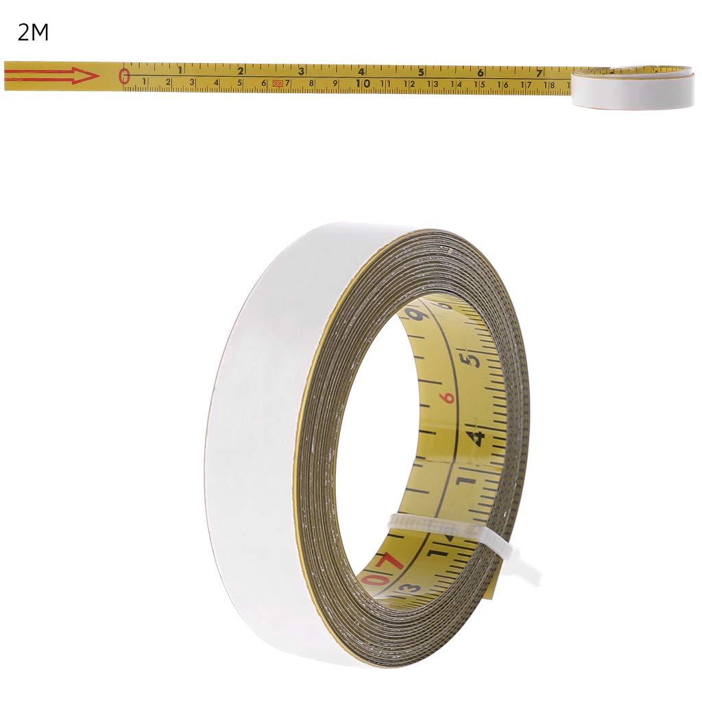 5 m 3 m 2 m nastro adesivo imperiale e metrico misura righello di pista smussato 1 m Nastro da misurare