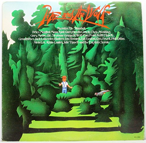 Peter And The Wolf LP - RSO RS-1-3001 - US Urgent