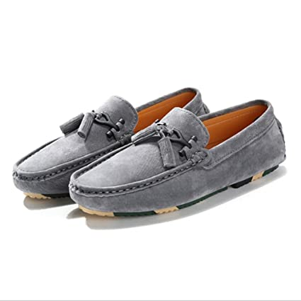 ad6339bf74de5 Amazon.com: XUEXUE Men's Shoes Leather Spring Summer Loafers & Slip ...