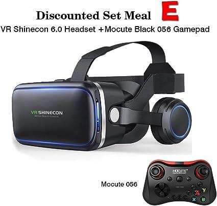 3D Glassesoriginal VR Shinecon 6.0 Versión para Auriculares Gafas ...