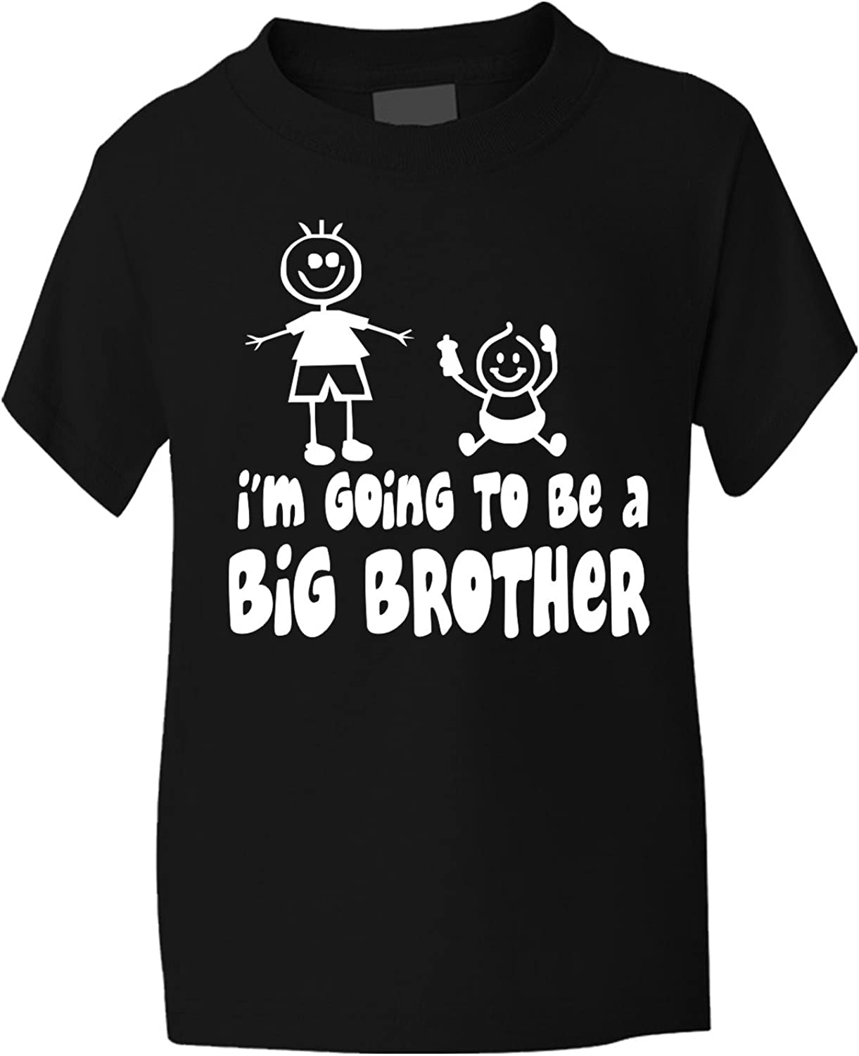 "16 BRAND NEW Fruit Of The Loom /"" I/'m The Big Brother /"" White T-Shirt Size 14"