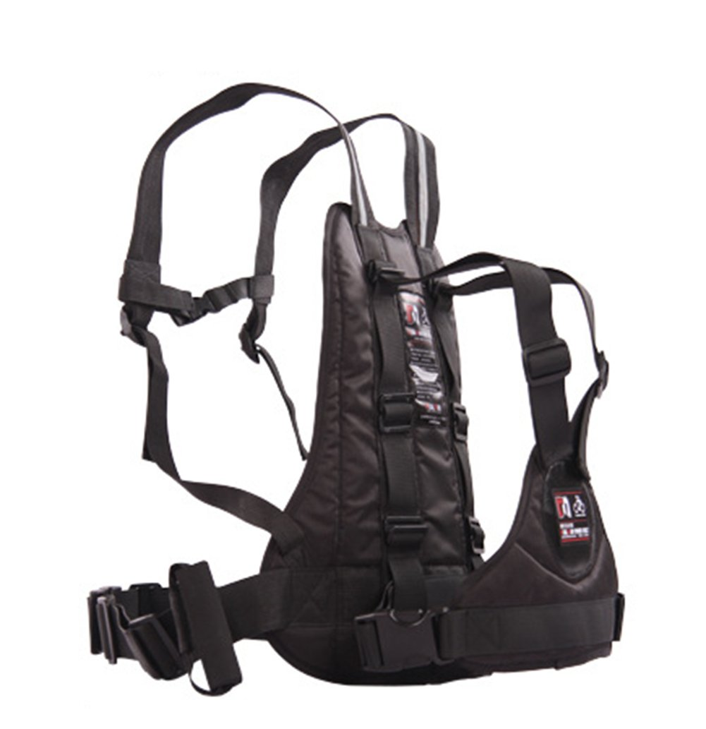 LOLBUY High Strength Childrens Motorcycle Safety Harness Can be Adjusted Up and Down, Black.