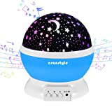 Amazon Price History for:[UPDATE]Esonstyle Musical Night Light,360 Rotating Star Lamp Baby Musical Lamp with Rechargeable battery,12 songs to relax for Sleep kids Babies Birthday Children Day Christmas Gift
