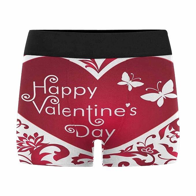 Interestprint Boxer Briefs Men S Underwear Valentine S Day With