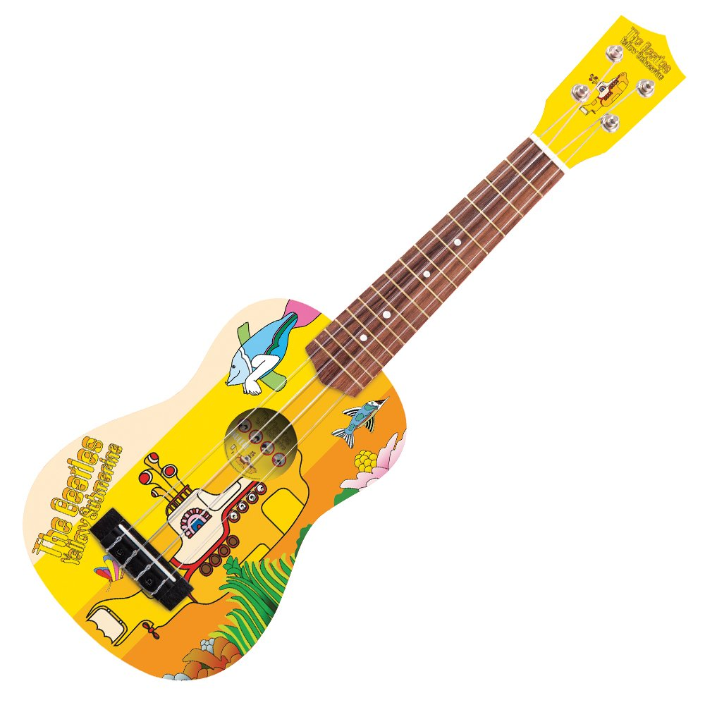 The BEATLES YELLOW SUBMARINE YSUK02 - Ukelele con cuerdas: Amazon.es: Instrumentos musicales
