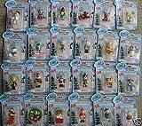 Webkinz Exclusive Holiday Ornaments Set of 24 Mini PVC Figure Ornaments