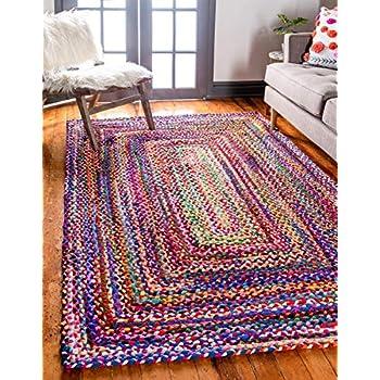 Unique Loom 3142665 Area Rug, 7 x 10 Rectangle, Multicolor