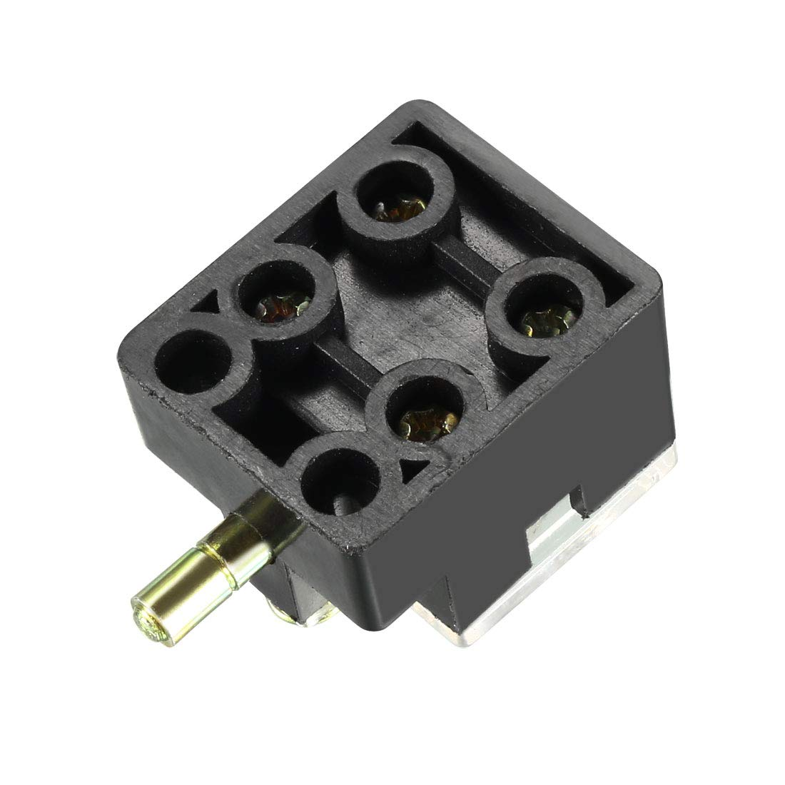 uxcell LXW3 1NO 1NC Spring Plunger Limit Switch Black